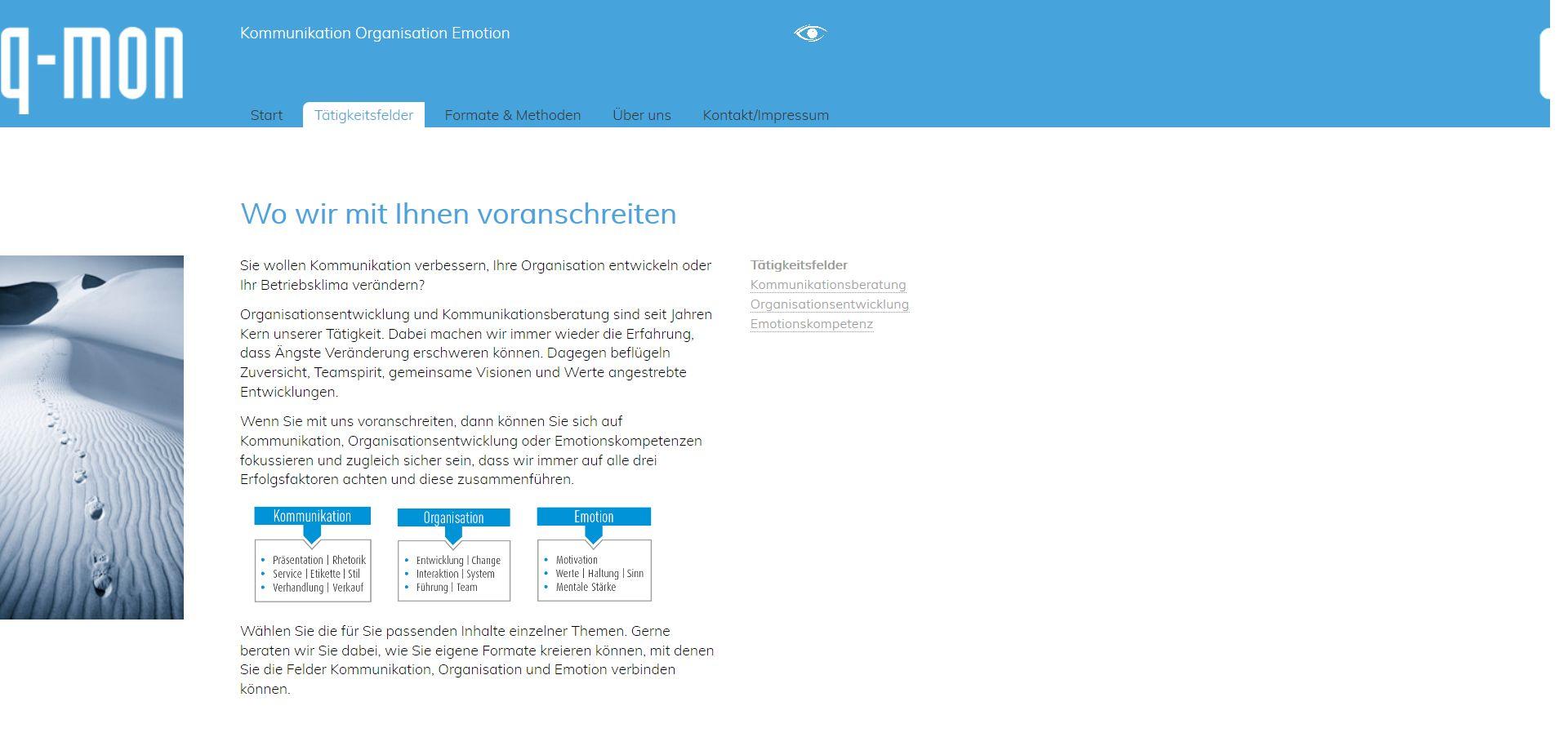 website-redesign-statisches-html-qmon